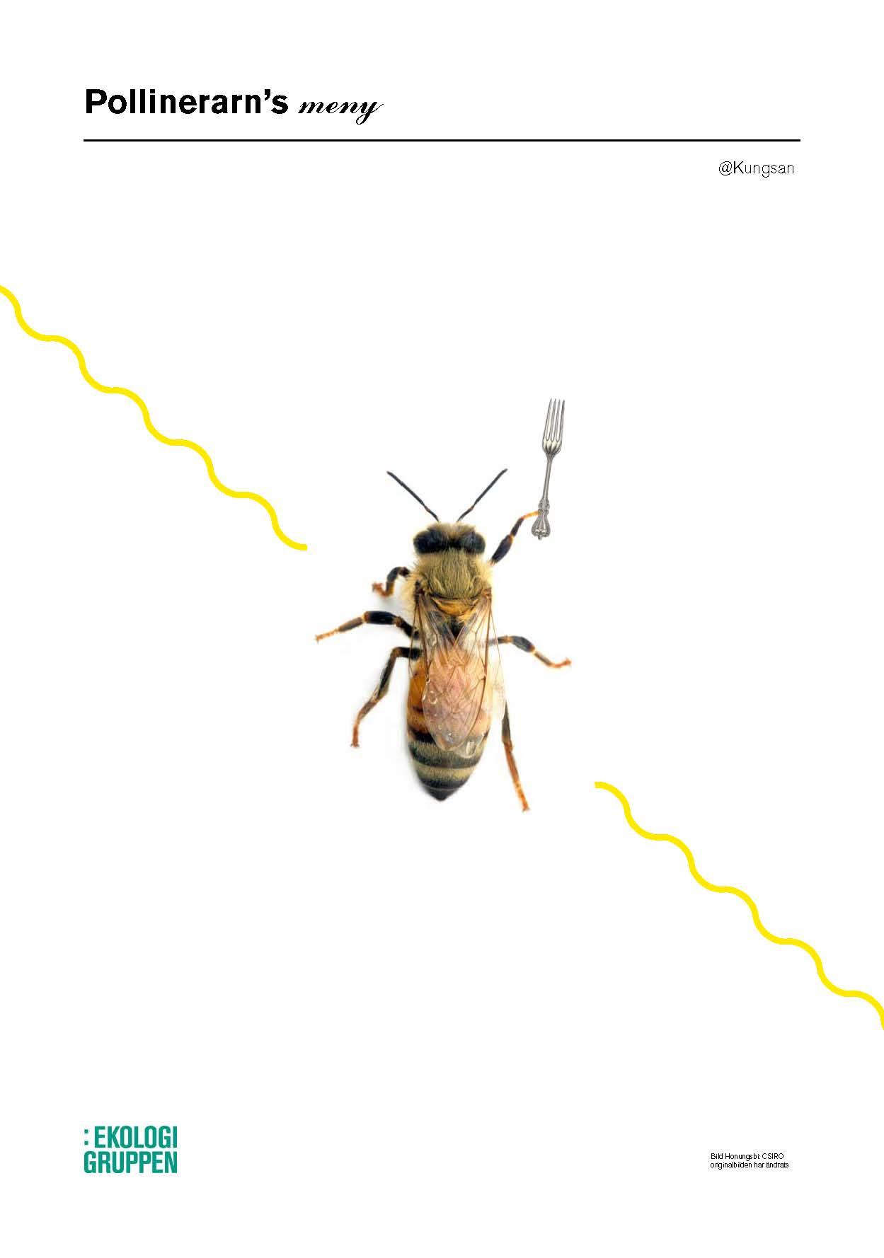 A menu for pollinators