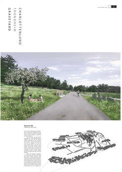 Charlottenlund Graveyard - a university project