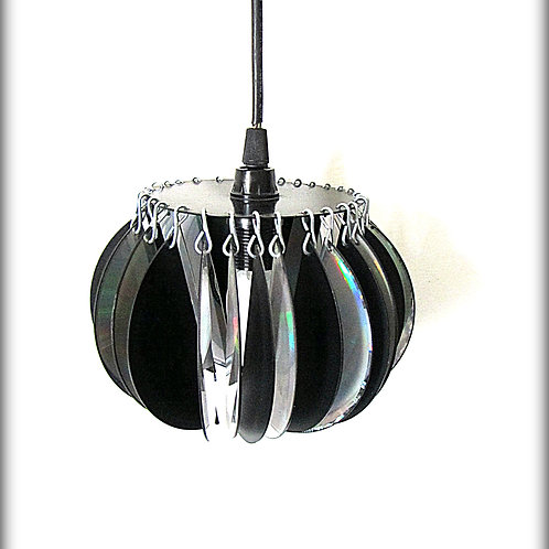 Ceiling Lamps with lampshade made of computer discs