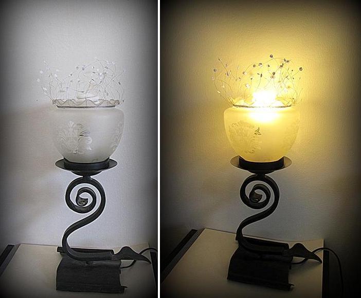 Мотыльки над лампой