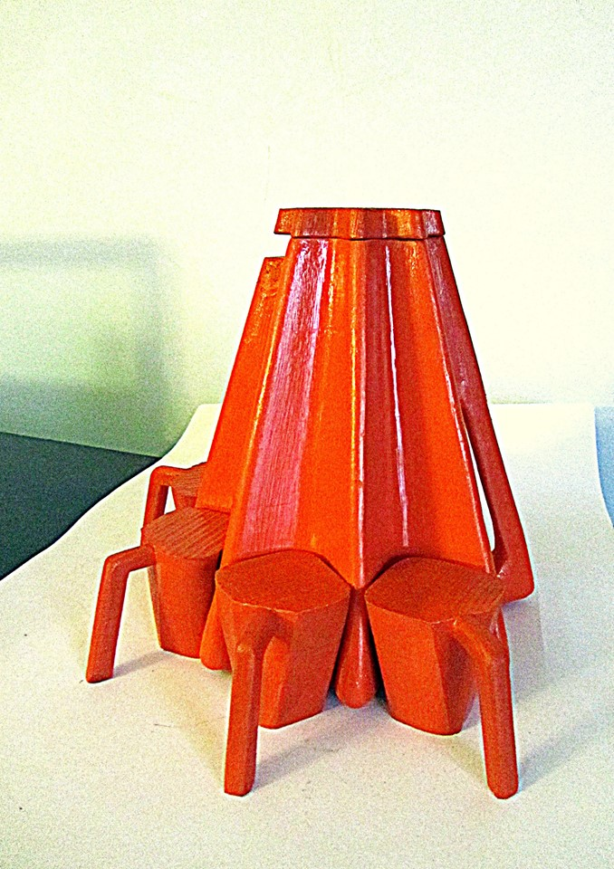 Сoffe set. Product model