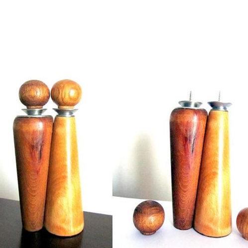 """Modern transformer candlesticks """"Ideal pair""""."""