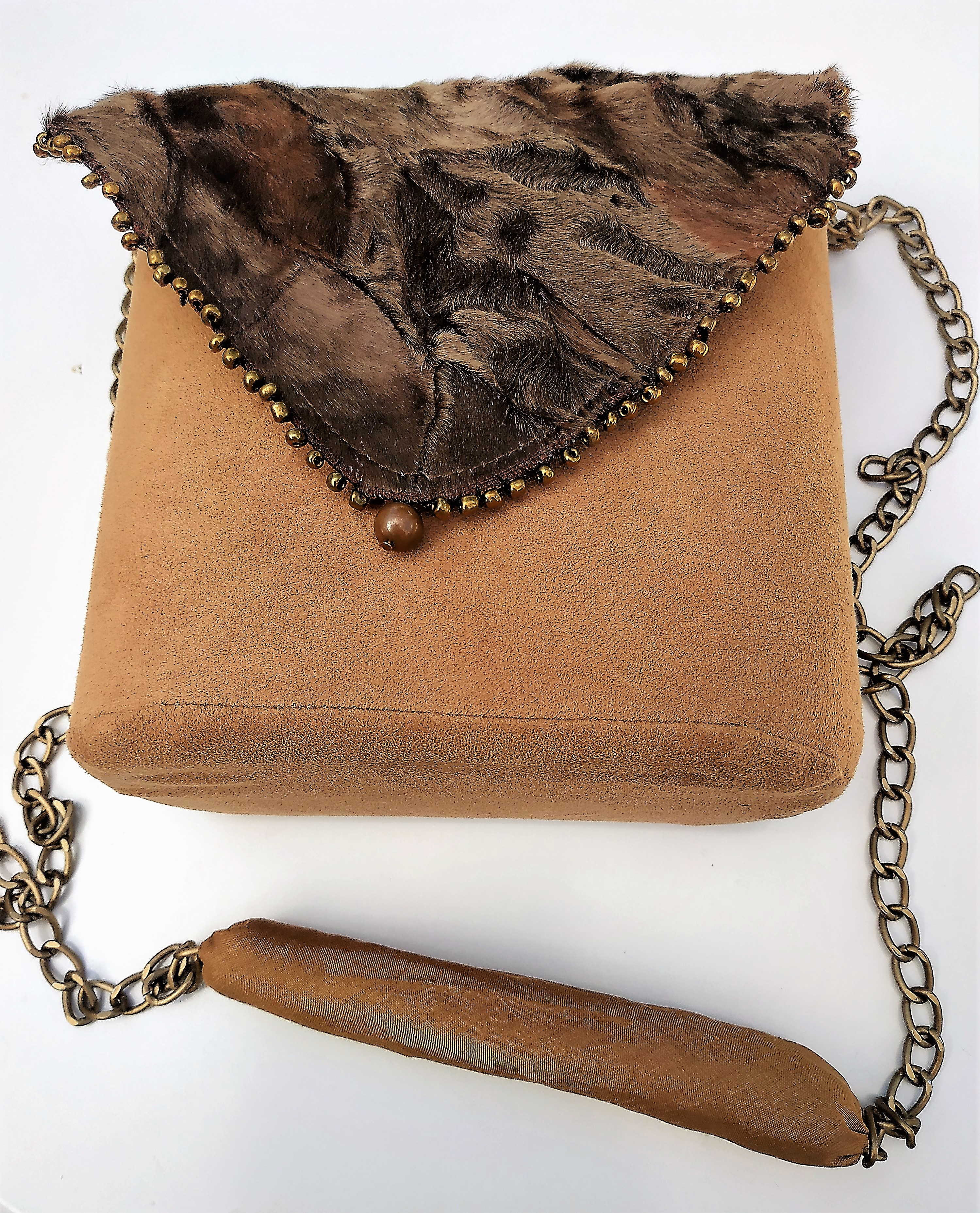 Bag with fur Original product for women