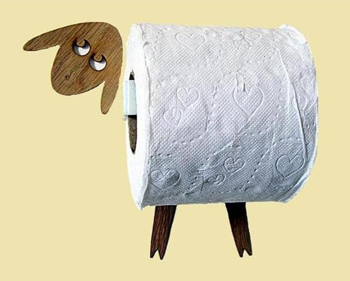 Toilet roll holder Original product for bathroom