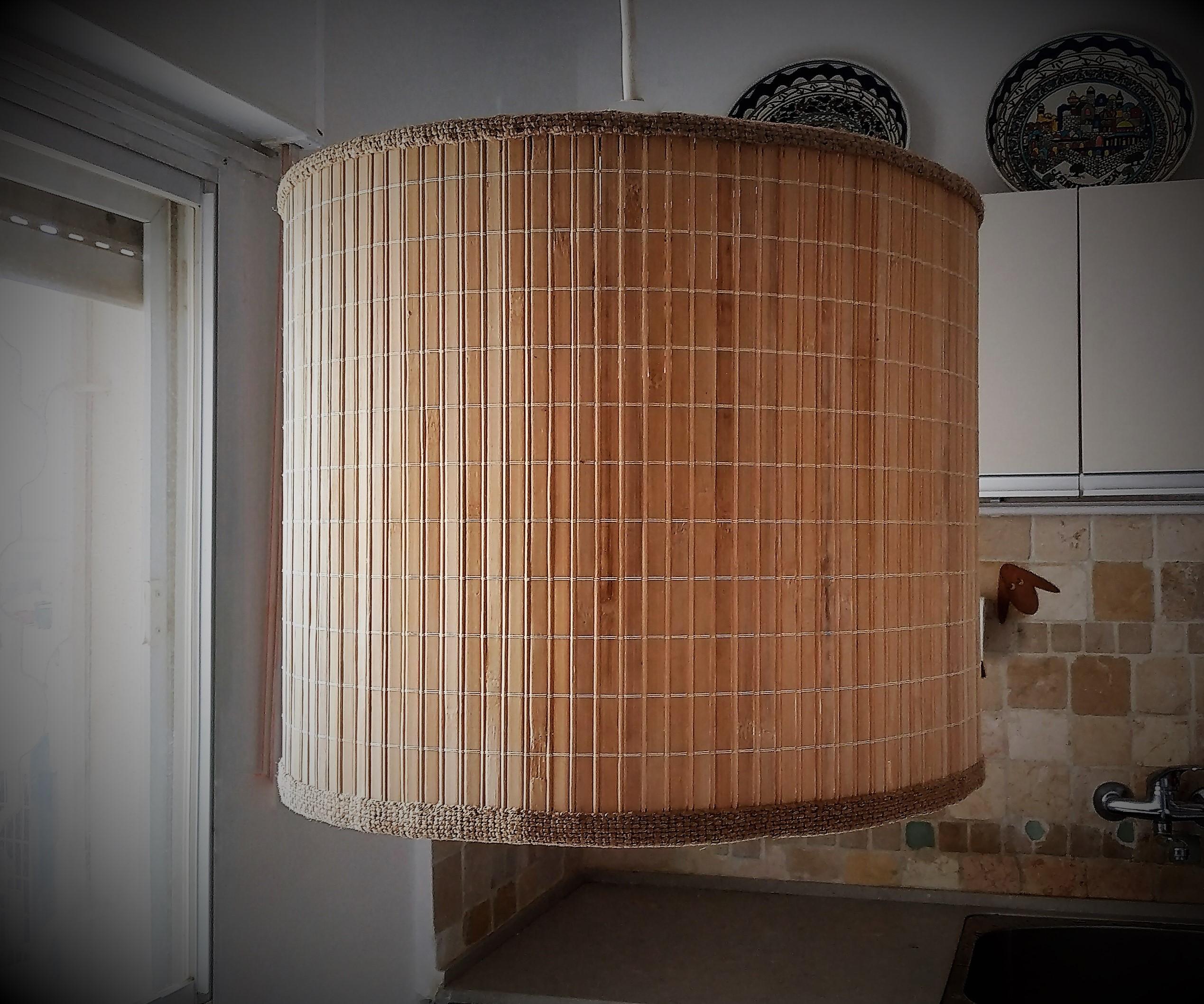 Lampshade / bamboo lamp