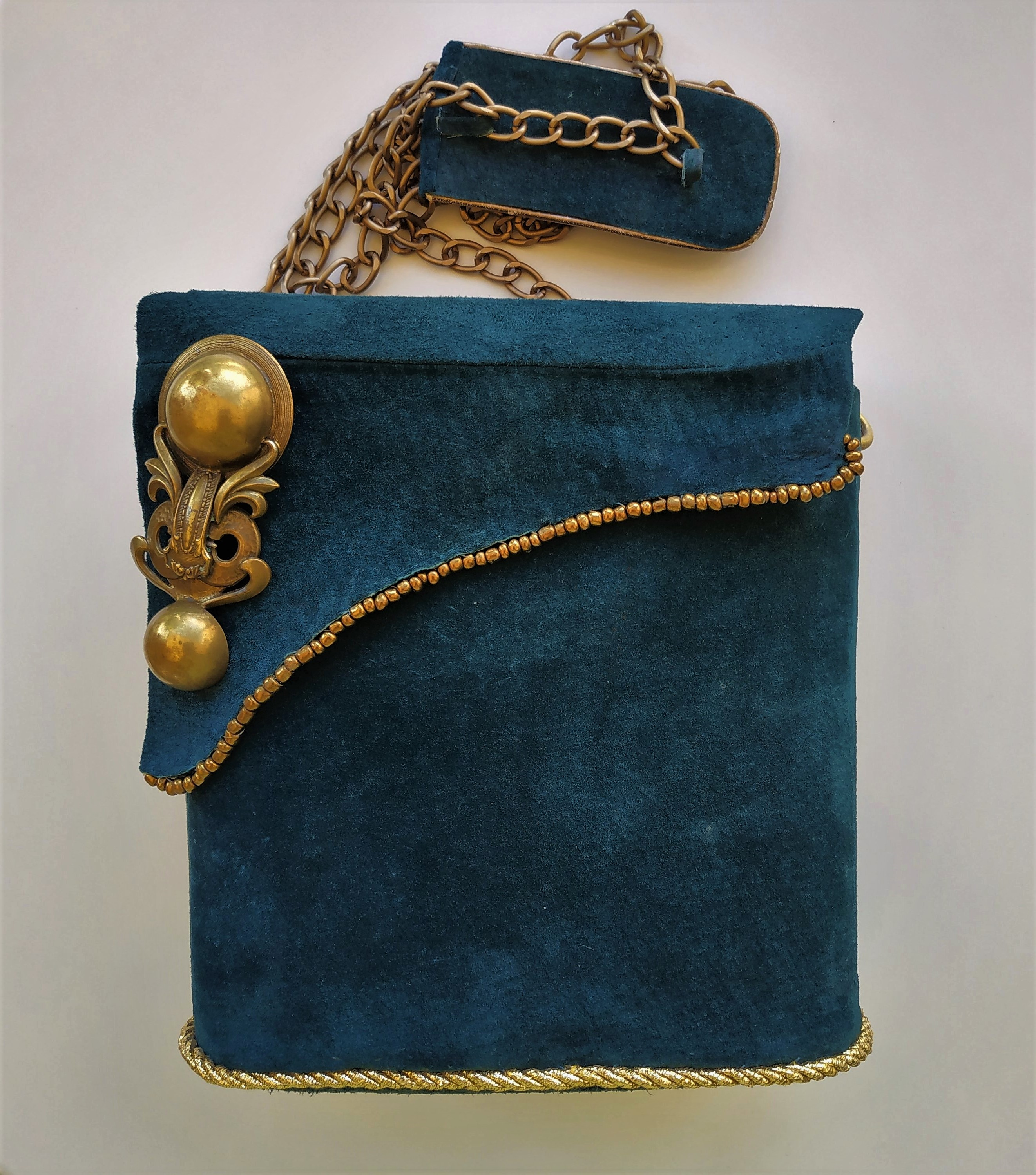 Suede box-bag - Original product for women