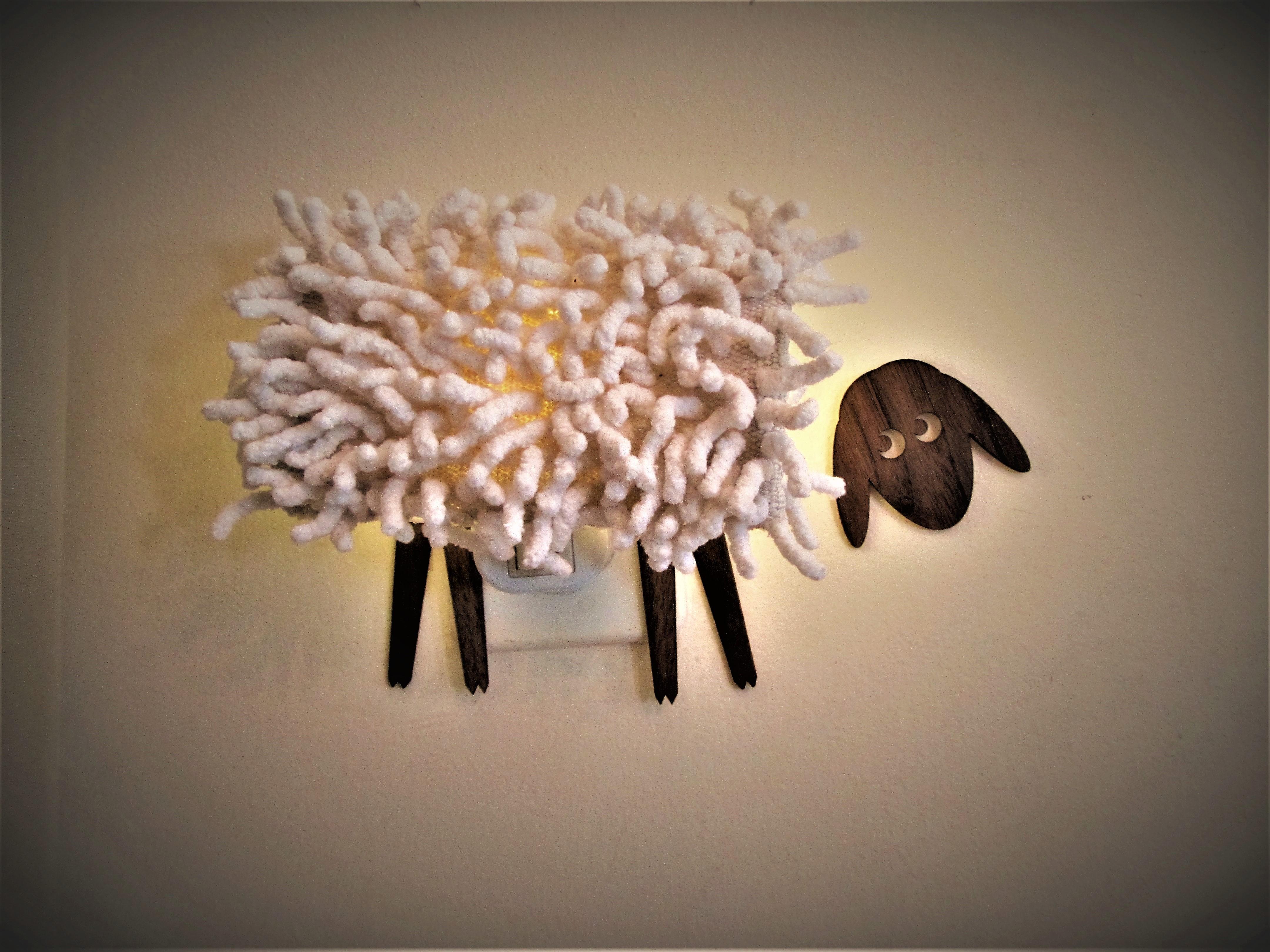 מנורת לילה - כבשה