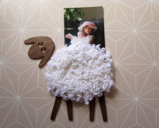 Sheep - Sticker - Handmade gift