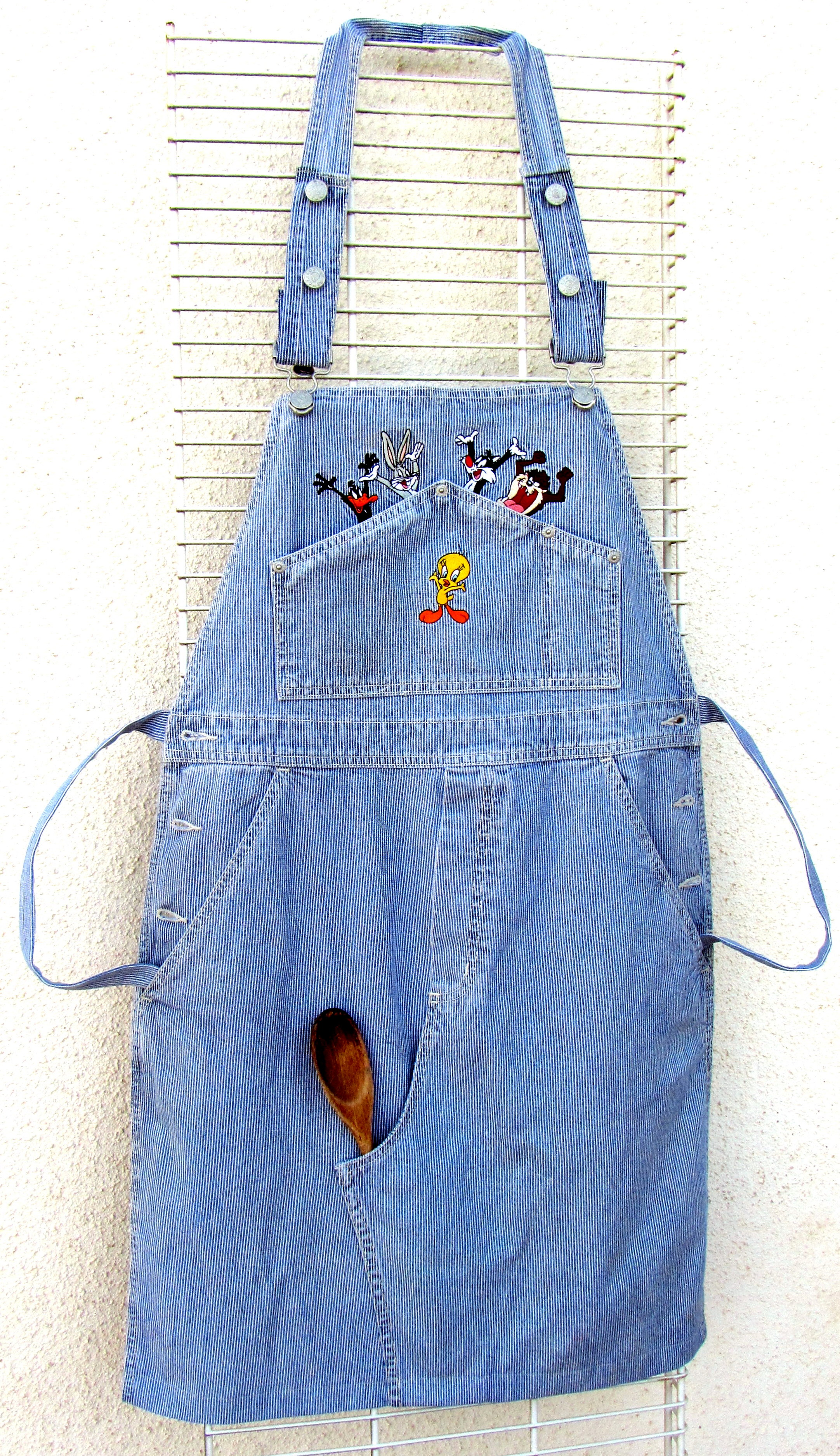 DENIM APRON - original products for home