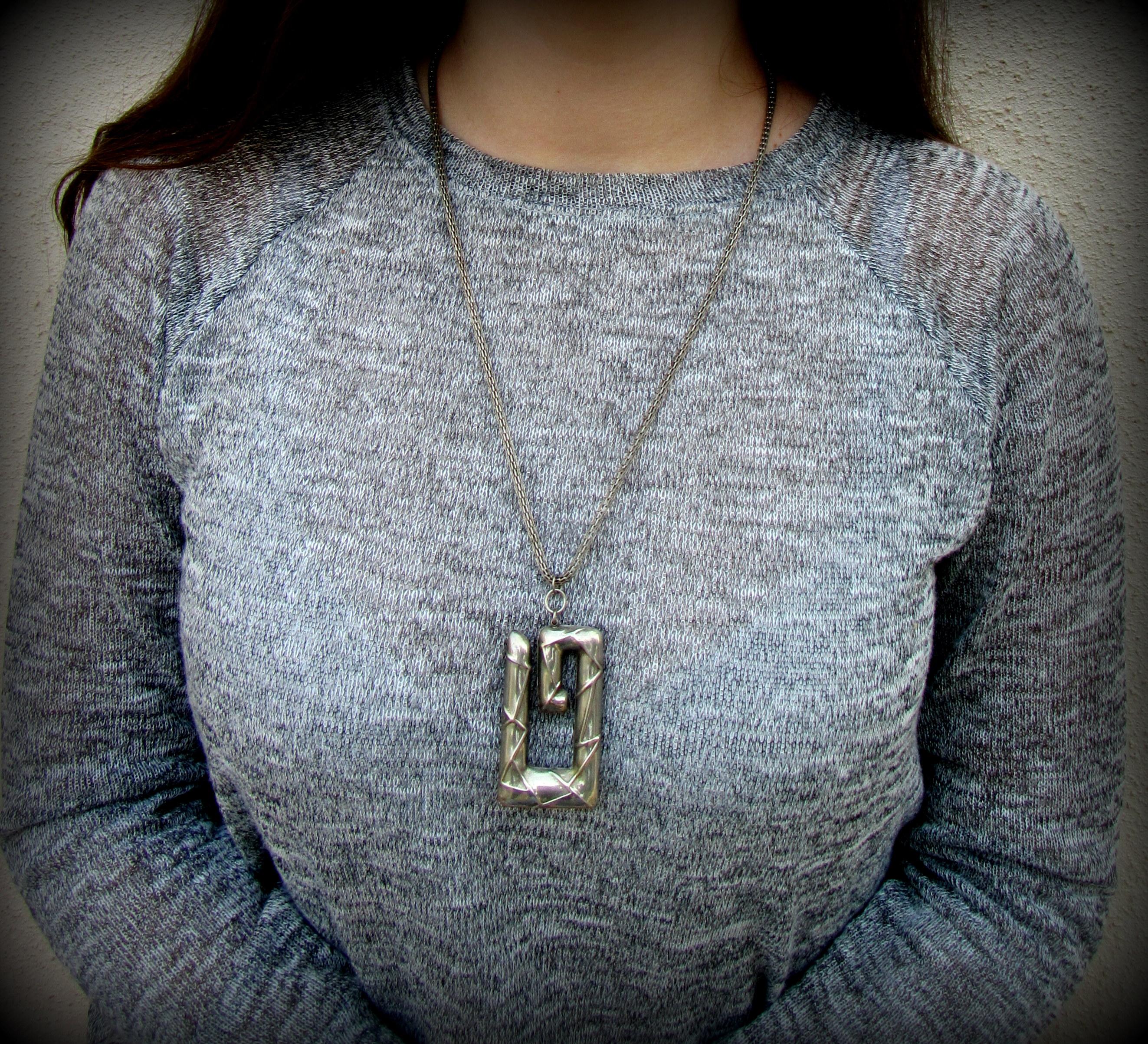 Modern pendant in the Greek style