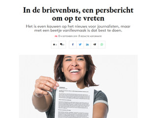 Flyers2Eat in de media | Adformatie