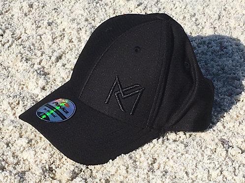 MK FLex Fit Ball Cap  -Black