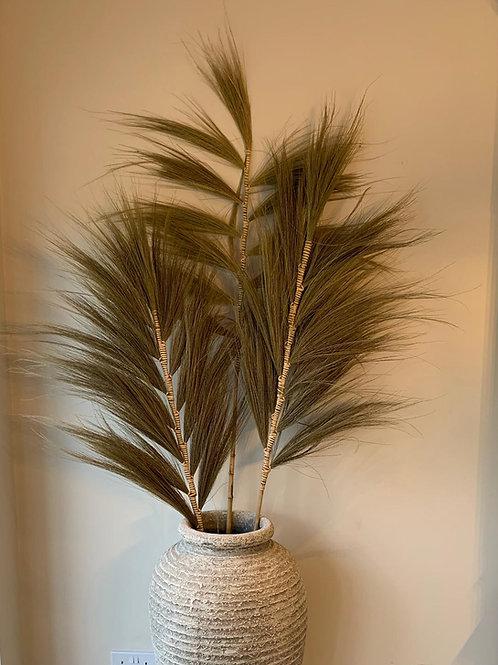SK241 Natural Feather Pot Display 180cm H (5 pieces)