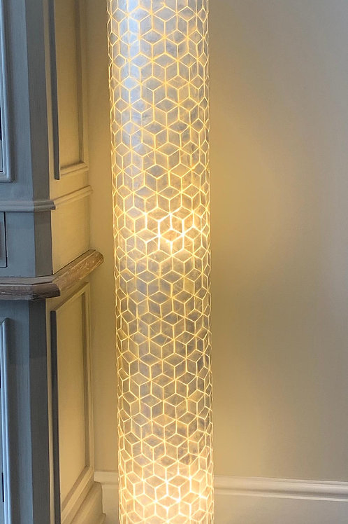 LS307 Shell Tall Abstract Lamp 150cm