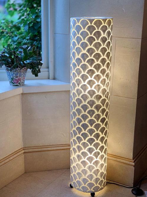 LS55 Shell Ivory Scallop Lamp Medium 100cm