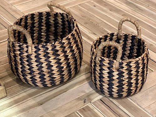 SK235 Round Handle Basket (Set of 2)