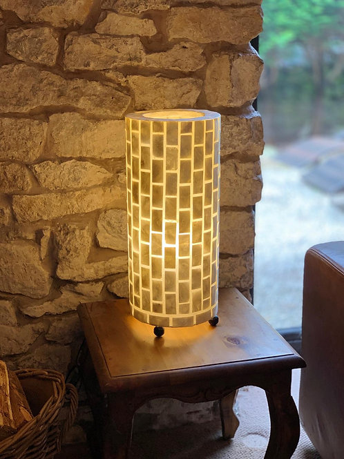 LS82 Cylinder Brick Table Lamp 50cm