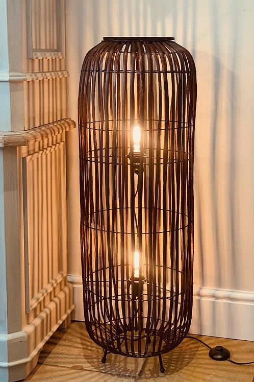 LS301 Rattan Weave Floor Lamp 100cm