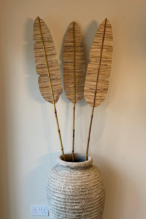 SK242 Palm Spear Pot Decoration (5 Pieces) 180cm H