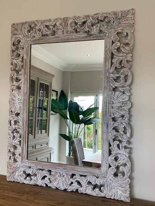KC69 Belladonna Whitewash Mirror 120cm x 90cm