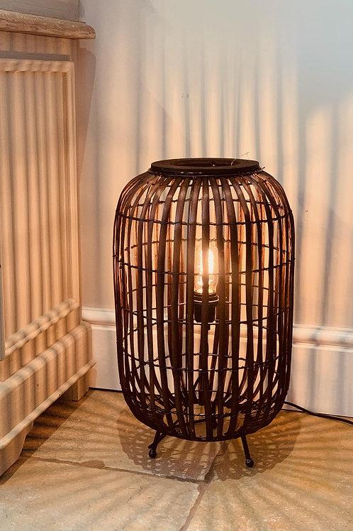 LS302 Rattan Weave Table Lamp 50cm