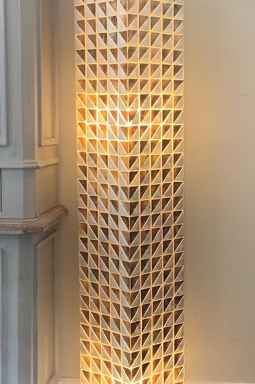 LS310 Tall Shell Geometric Square Lamp 150cm