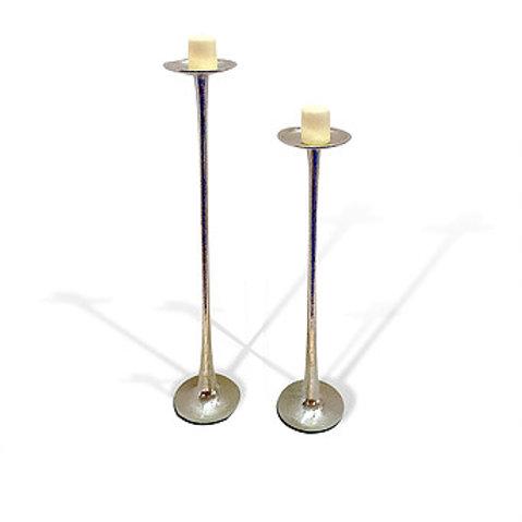 SA58 Pillar Round Candle Holder - Set of 2