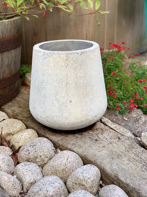 OP10 Outdoor Open Mouth Pot Cream 30cm