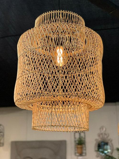 LS203 Rattan Birdnest Hanging Shade