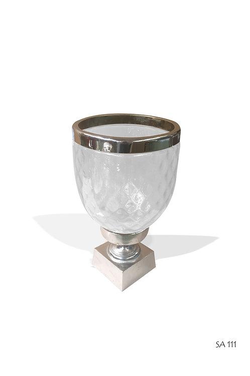 SA111 Smoked Hurrican Vase (H35cm)