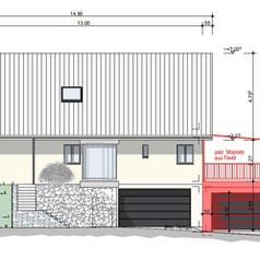 Anbau Garage