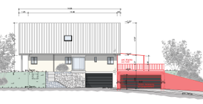Anbau Garage Kappel