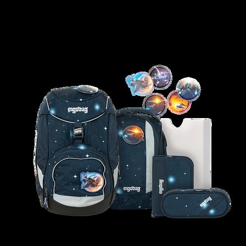 """Ergobag Pack """"KoBärnikus Glow"""", 6-teilig"""
