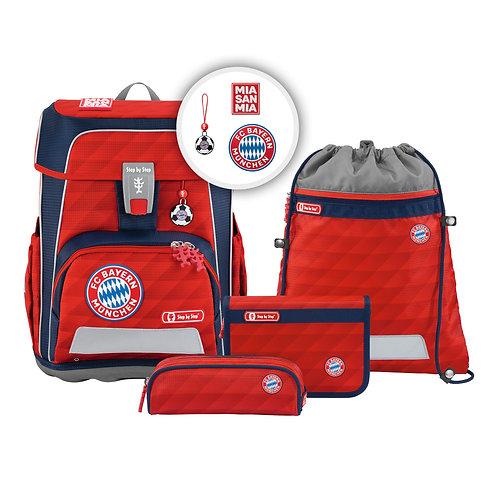 """CLOUD Schultaschen-Set """"FC Bayern"""", 5-teilig"""
