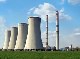 Black coal power plant in Czech republic