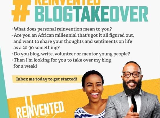 #ReinventedBlogTakeOver is back - with Tatenda Rungisa