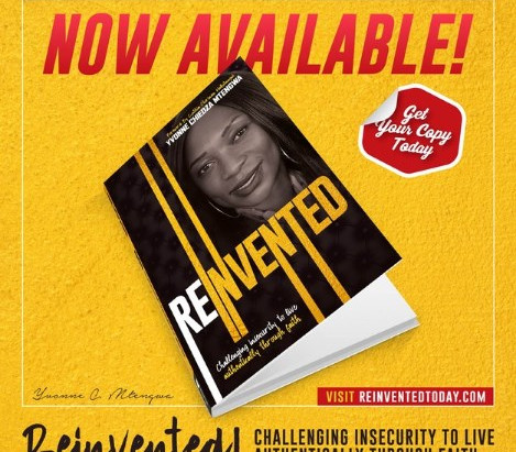 "Houston! ""Reinvented: Challenging insecurity to live authentically through faith"" - now available!"