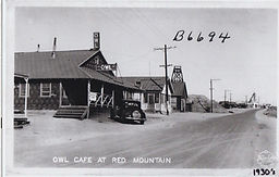 Historic Owl Cafe and Saloon- Red Mounta