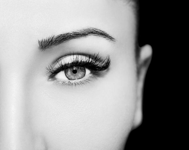 Beautiful Eyes Make up detail, perfect