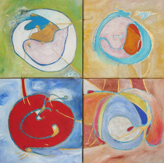 Zyklus Geburt I bis IV