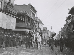 parade with horses