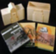artist books & basswood box