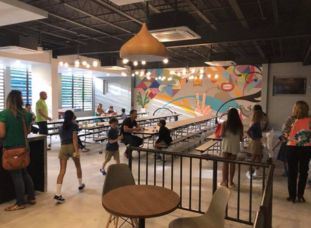 GET TO KNOW OUR NEW SCHOOL CAFETERIA