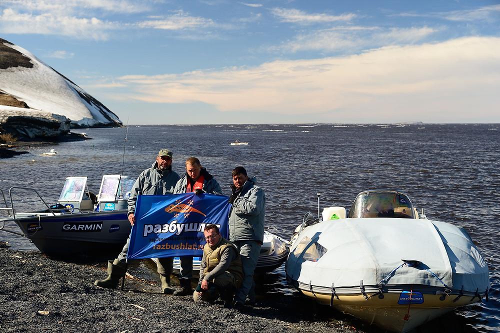 Финиш на полярной станции Сокол
