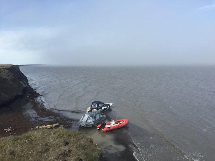 Стоянка на Восточно-Сибирском море