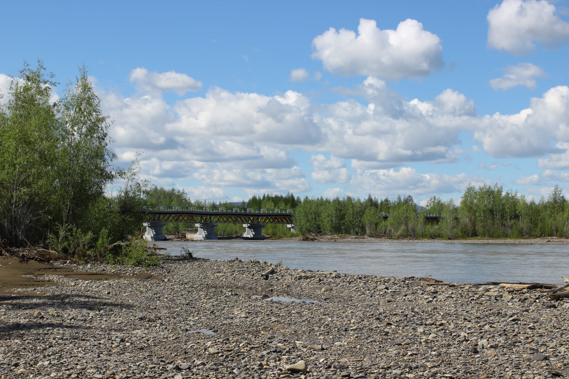 Мост через Агаякан.