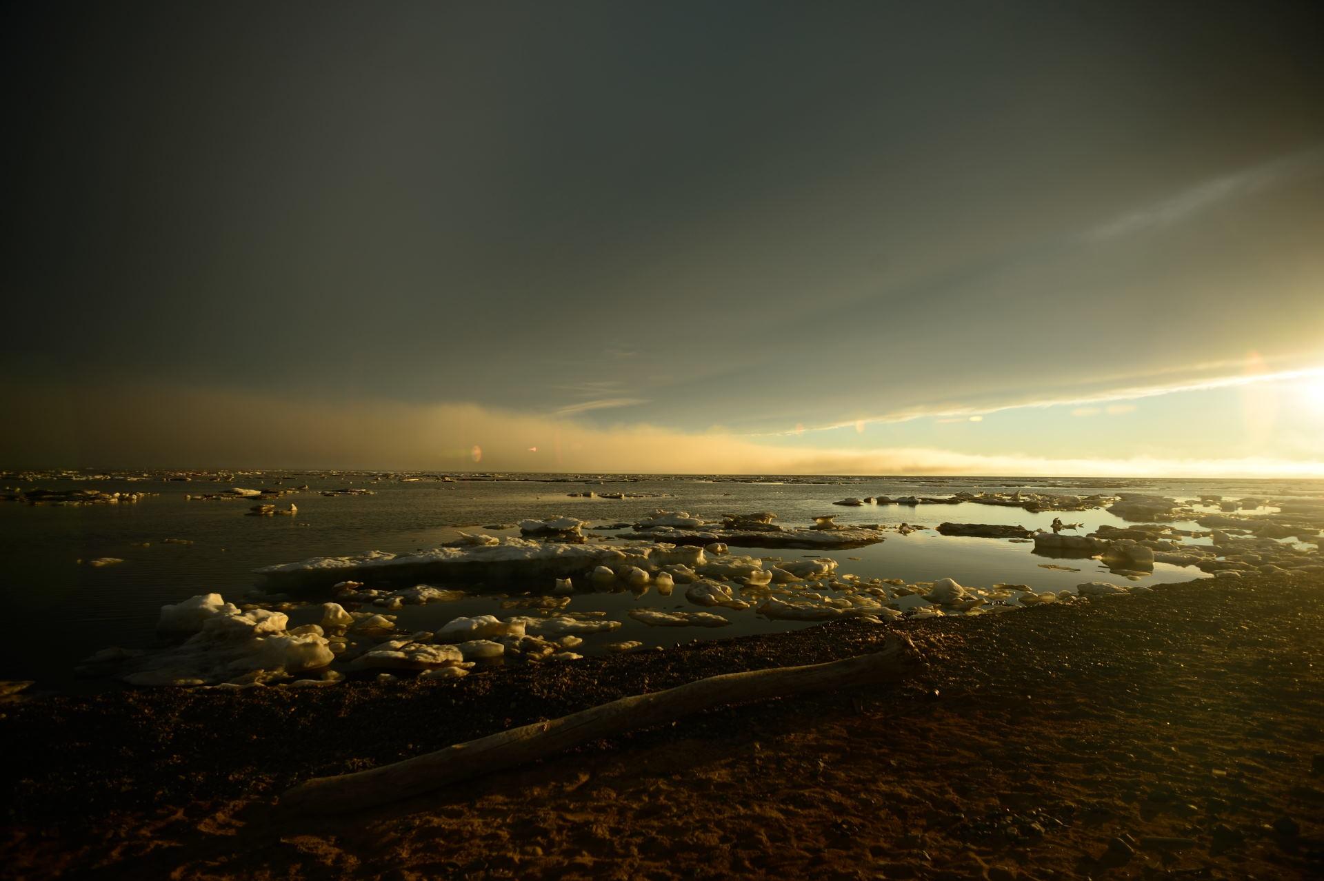 День в Арктике...
