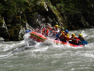 Рафтинг по реке Белая: 3 и 4 кат. сложности!