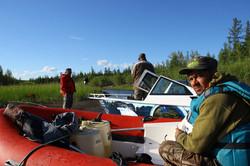 Остановка, перерыв, отдых и рыбалка!