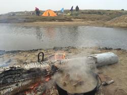 Второй лагерь на Святом Носе.